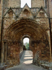 Medieval Portal, Jedburgh, Scotland, United Kingdom