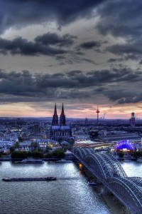 Hohenzollern Bridge, Cologne, Germany