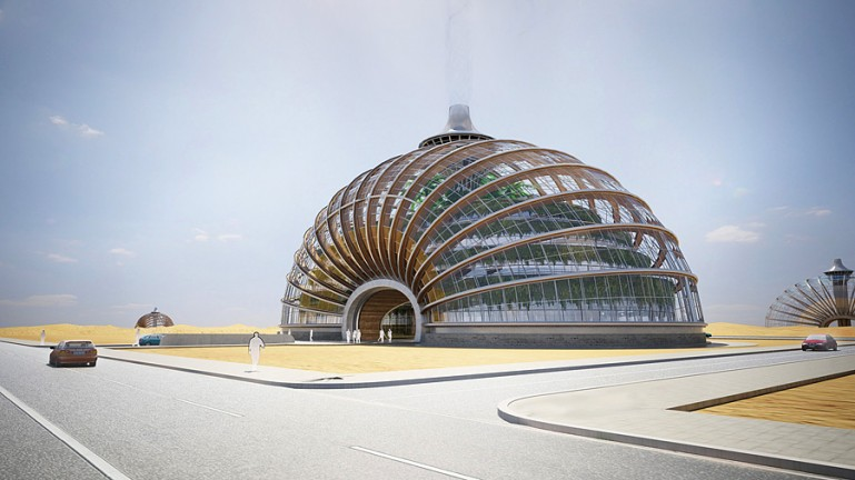 Ark Hotel Shell Design