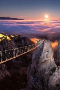 Mount Ai-Petri at Night, Crimea