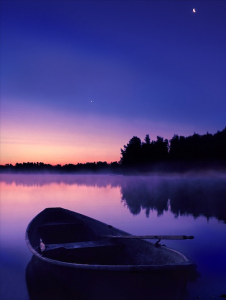 Night on the Lake, Finland
