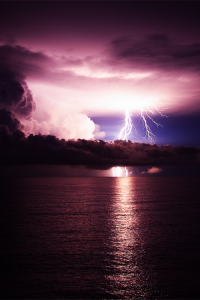 Light Show,  Nightcliff, Darwin, Australia
