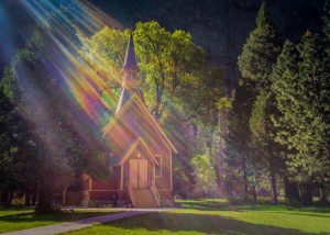 Yosemite Valley Chapel, Yosemite National Park, California
