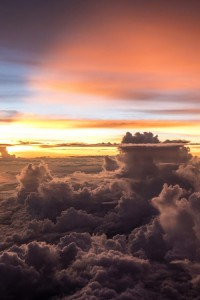 Clouds over Cebu, Philippines