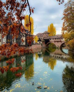 Fall in Nuremberg, Germany